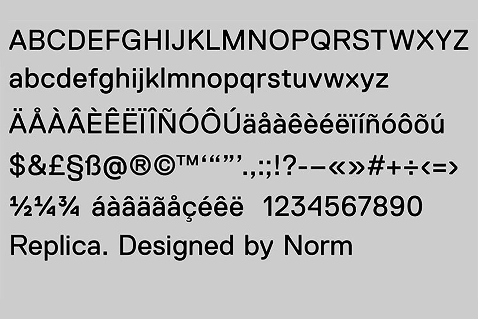 replica-typeface-norm