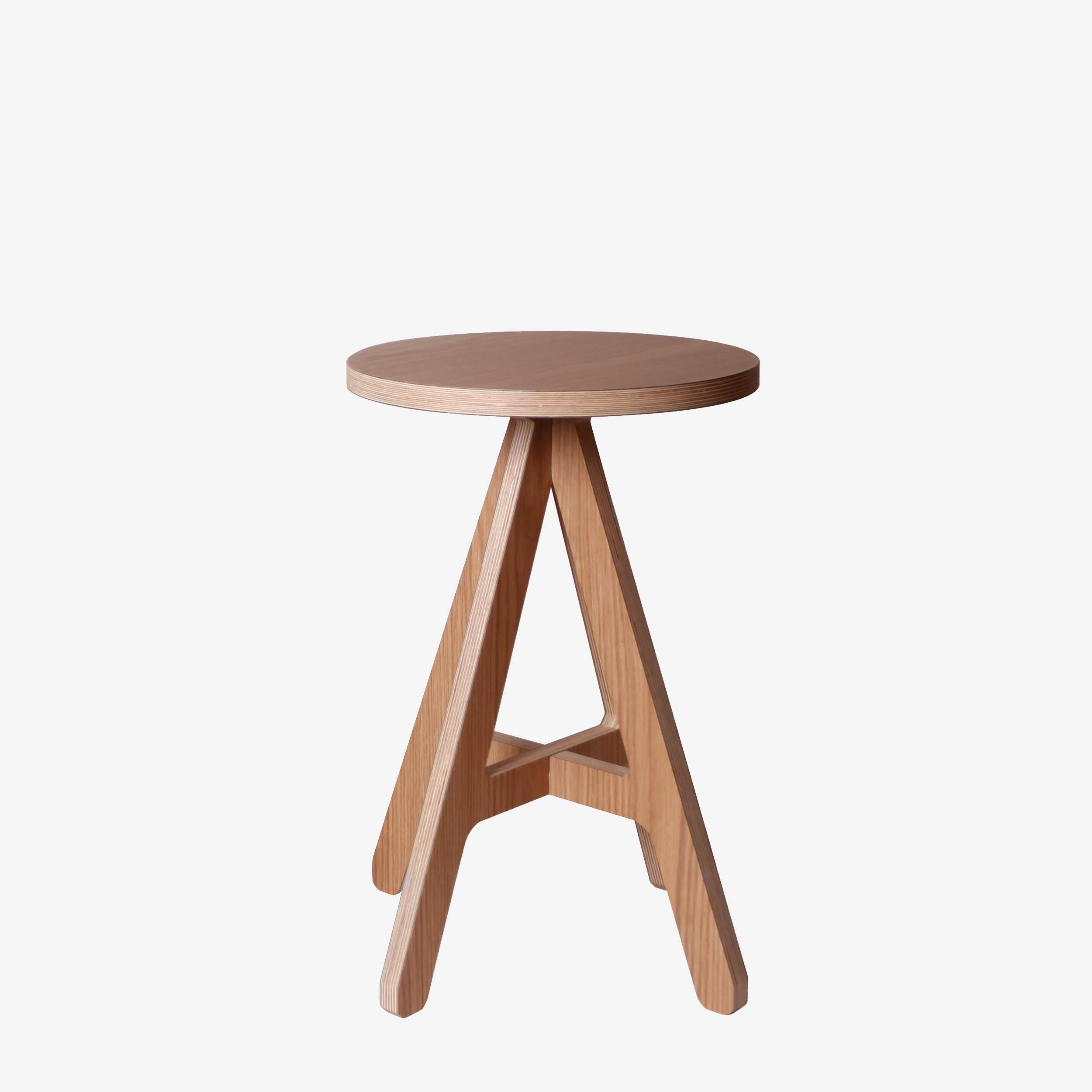 modern wood stool a stool british design byalex. Black Bedroom Furniture Sets. Home Design Ideas