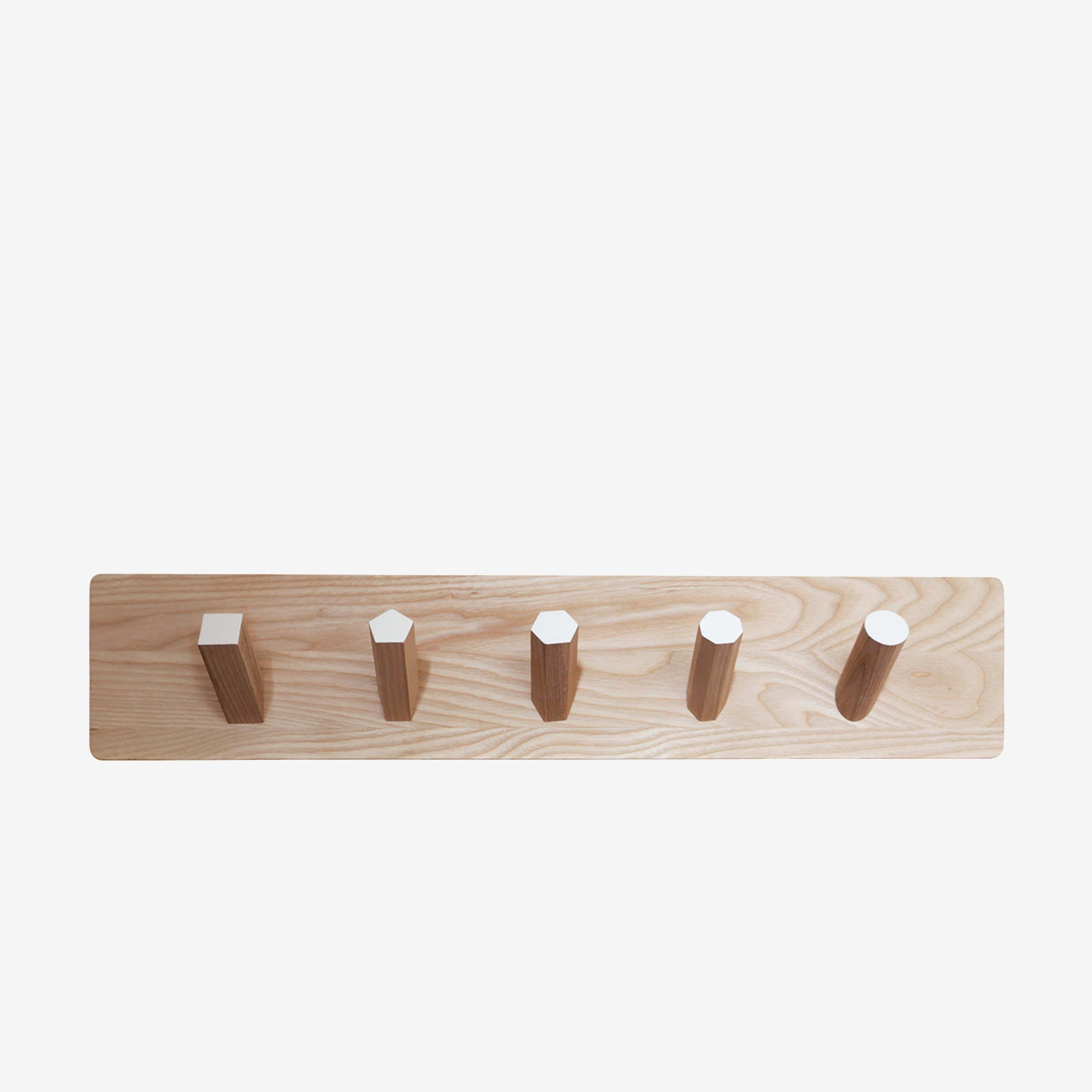 modern wall  coat hooks  geo coat rack  british design - geo coat rack